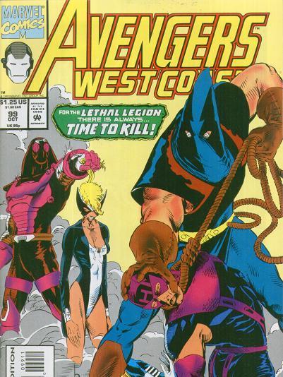Avengers: West Coast #1