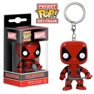 Брелок Deadpool Pocket POP! Keychain