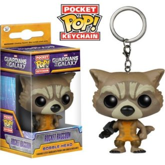 Брелок Rocket Racoon Pocket POP! Keychain