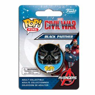 Значок Black Panther Funko Pop!