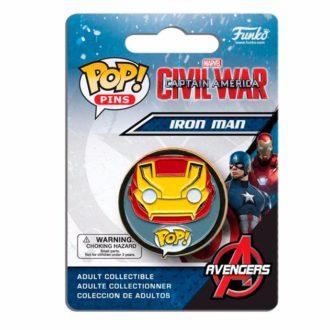 Значок Iron Man Funko Pop!