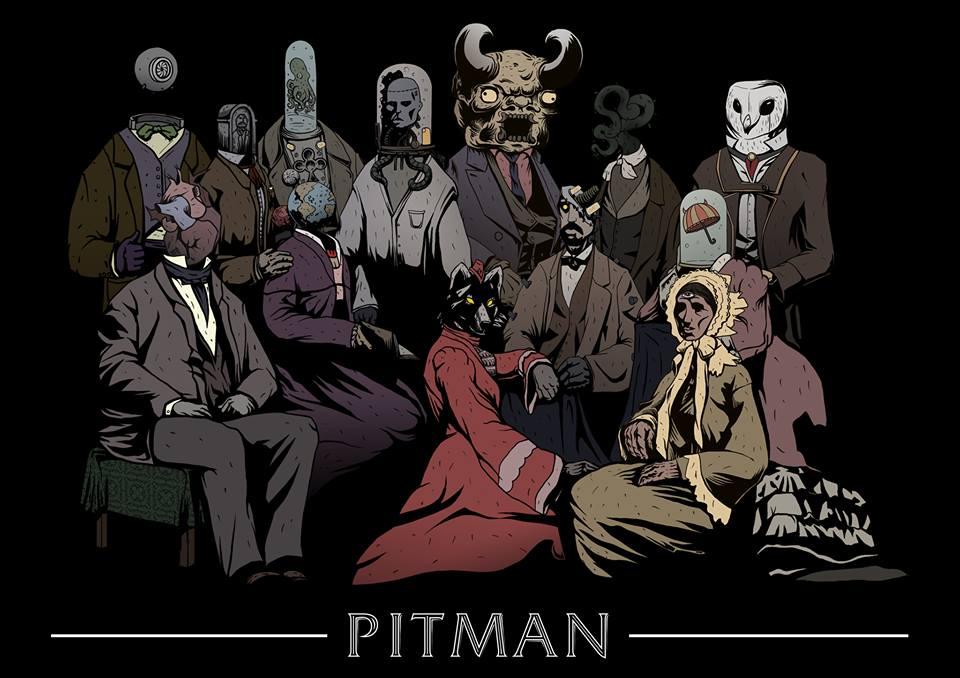 Pitman poster A3 n1