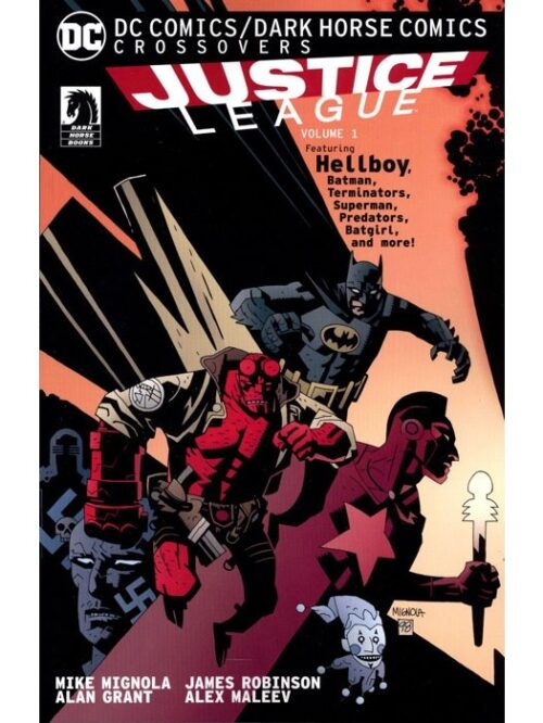Justice league hellboy