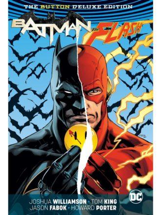 flash batman button