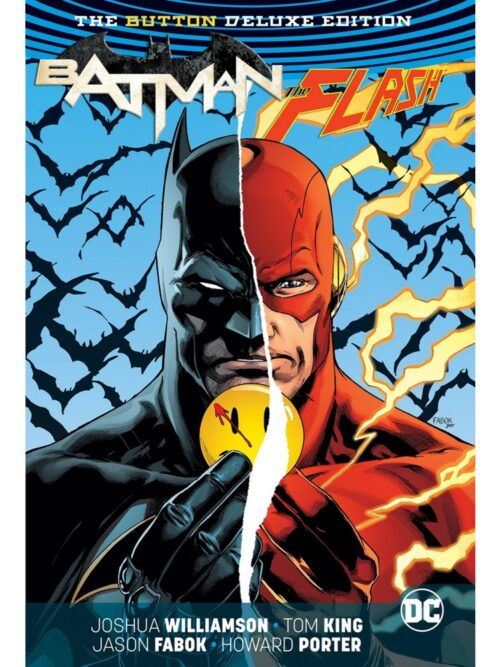 flash batman button