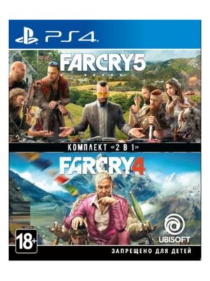 Far Cry New 4 and 5