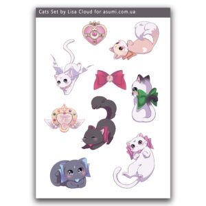 stickerpack-lc-sailor-cats